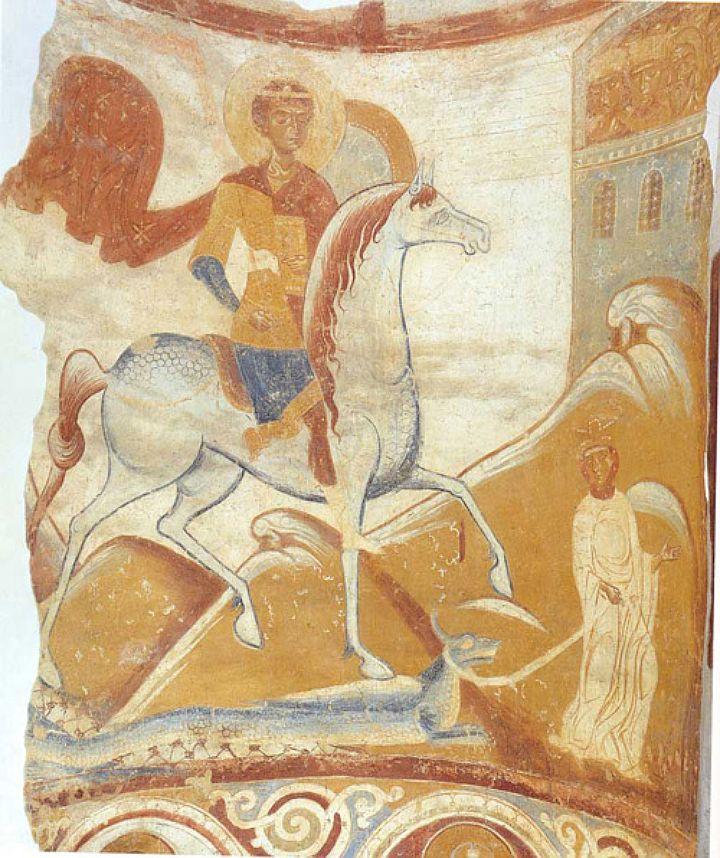 Фрески XII в.