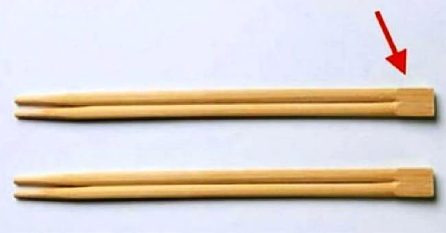 А вы знали, для чего нужна эта часть китайских палочек? Все гениальное — просто!