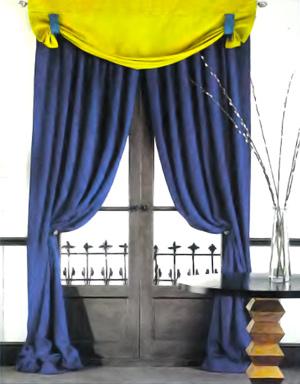 Сшить плотные шторы своими руками