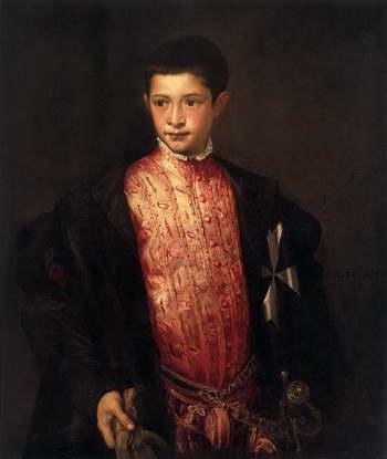 Тициан. Портрет Рануччо Фарнезе