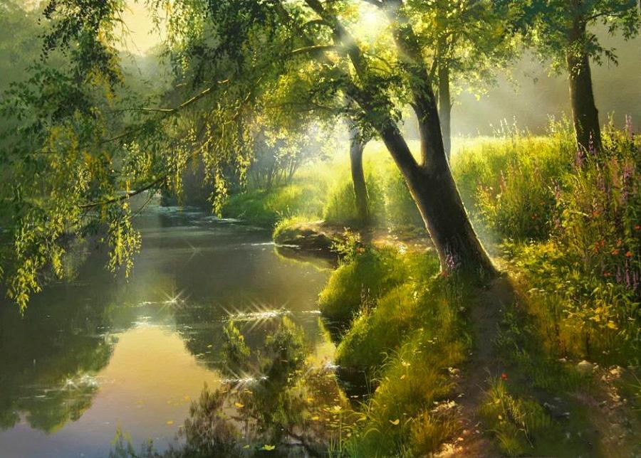 Невероятной красоты пейзажи белорусского художника