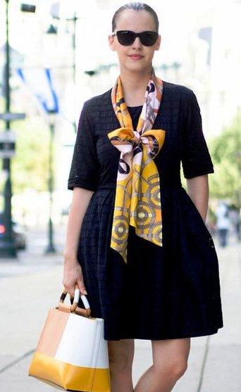 Уличная мода лето 2015: 15 модных образов с маленьким черным платьем