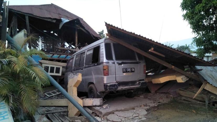 Число погибших при землетрясении в Индонезии возросло до 384