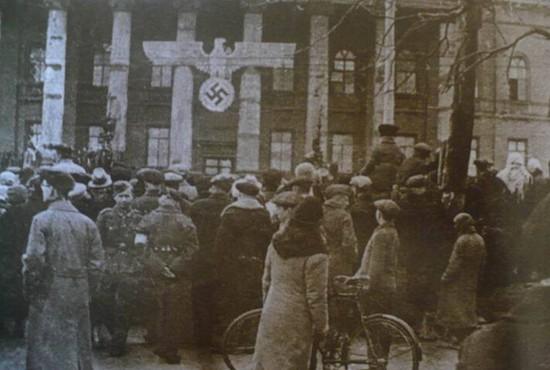 О перемещении украинских и белорусских культурных ценностей в Германию