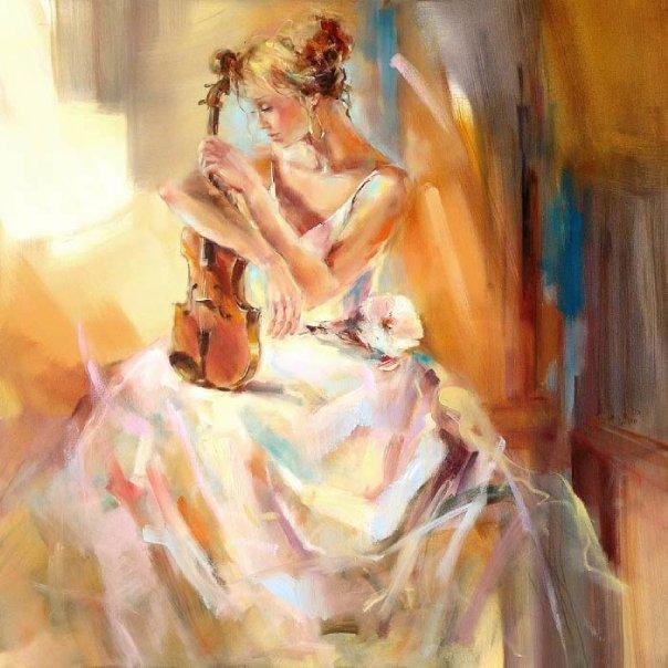 Гимн женской красоте в творчестве Анны Разумовской.