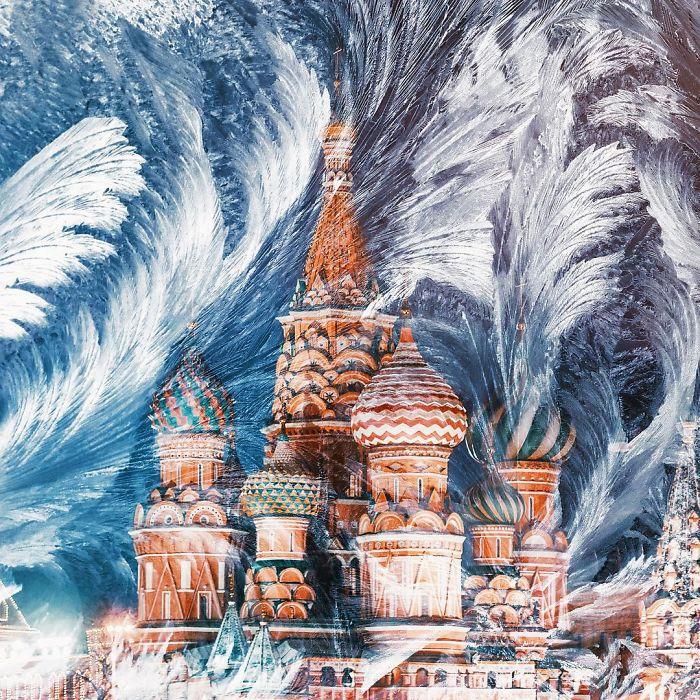 Москва, похожая на сказку