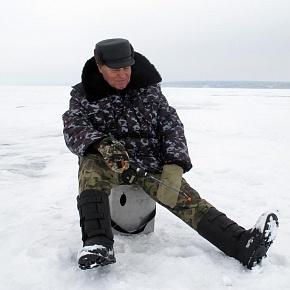 По первому льду за донским судаком