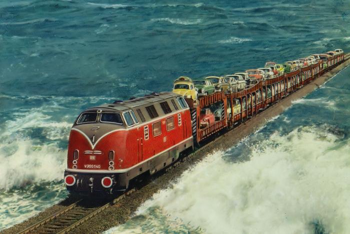 Необычные железные дороги, которые можно считать достопримечательностью.