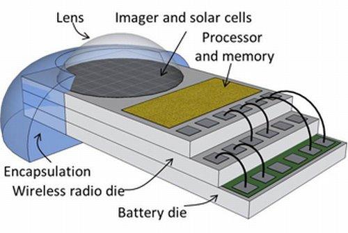 Структура компьютера Michigan Micro Mote