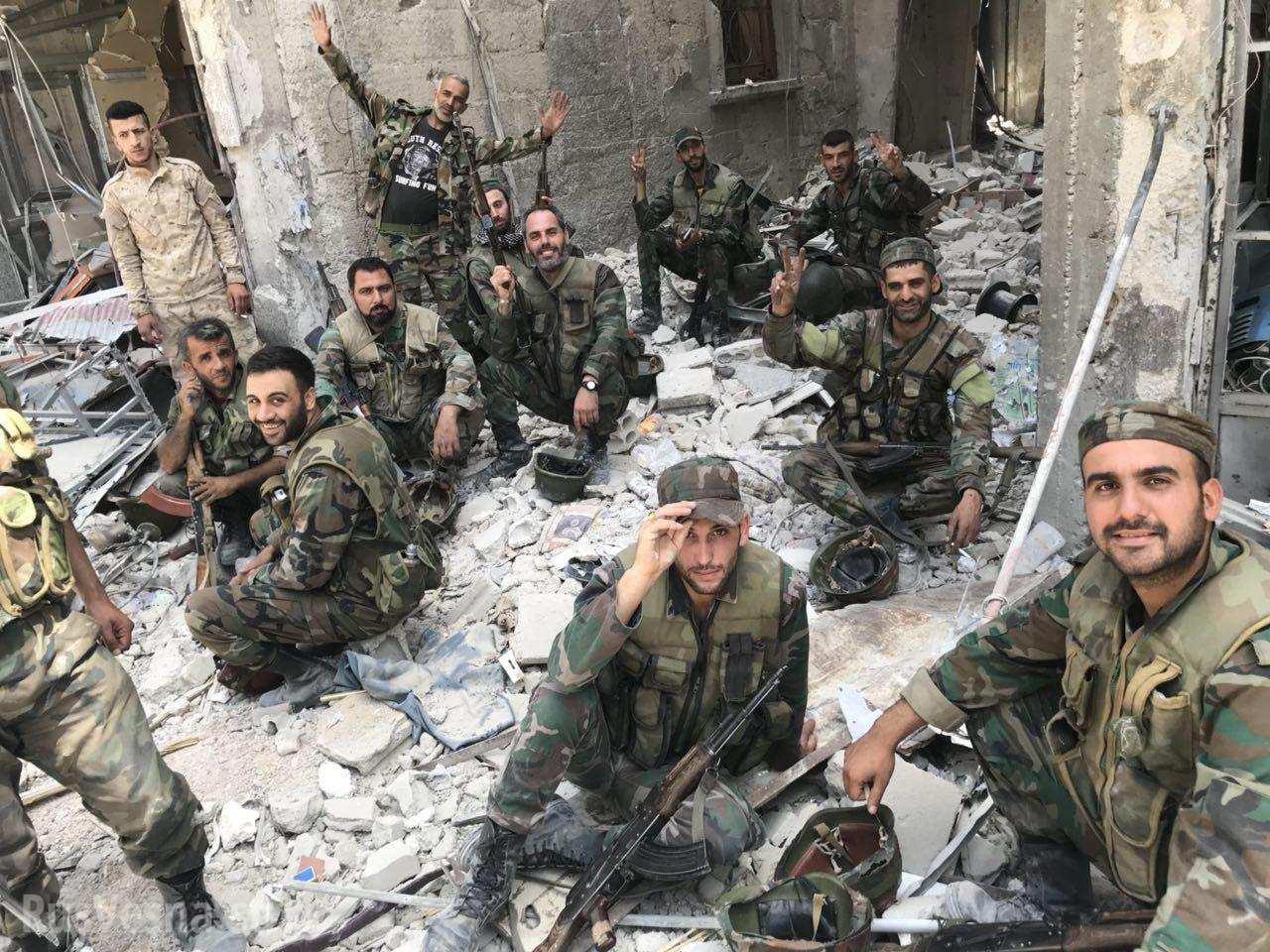 Сирия: Российские военные обнаружили госпиталь боевиков, созданный при помощи детского фонда ООН