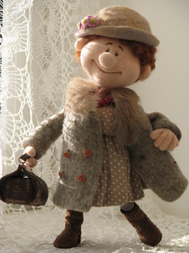 Уникальные авторские куклы из шерсти художницы Савиновой Натальи из Костромы