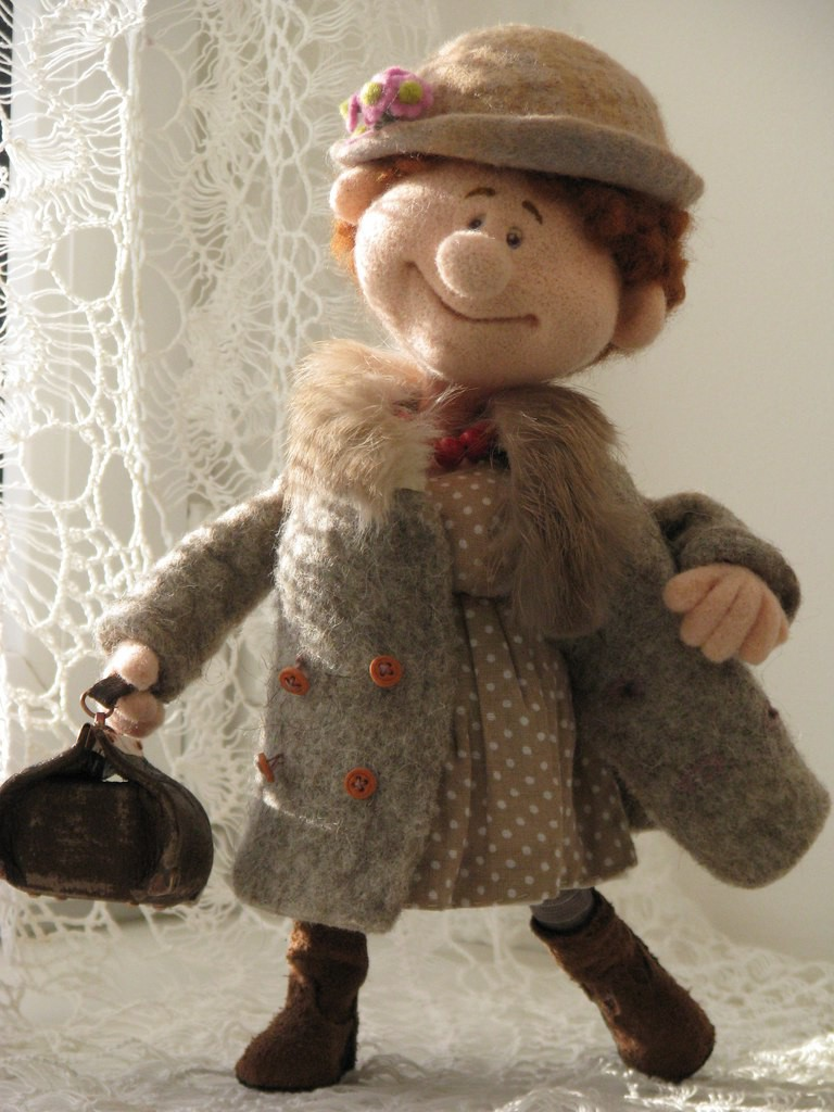 Куклы своими руками из шерсти
