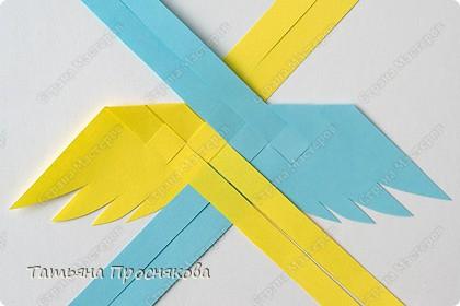 Мастер-класс Поделка изделие Плетение Плетёные птички Бумага фото 8