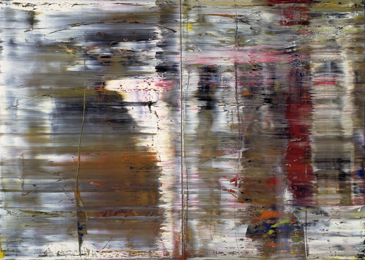 Abstract Painting (726) 1990 by Gerhard Richter born 1932