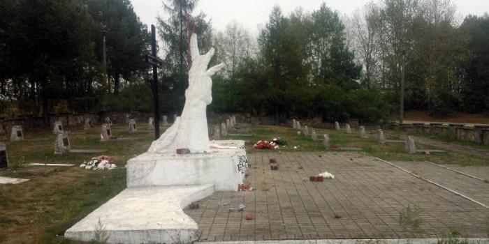 В Польше разгромили кладбище солдат Красной армии, погибших при её освобождении