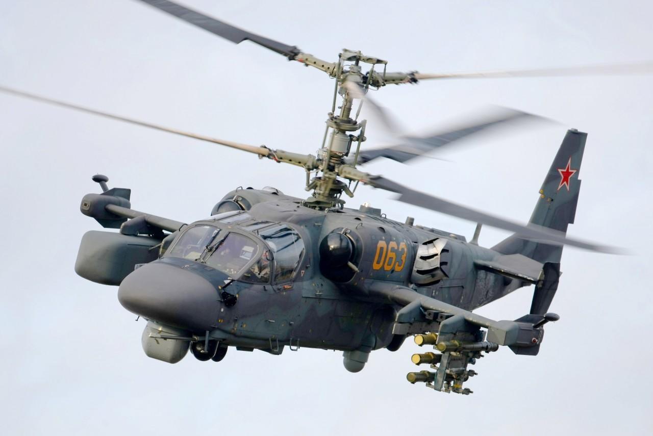 Ка-52 «Аллигатор» - российский ударный вертолёт
