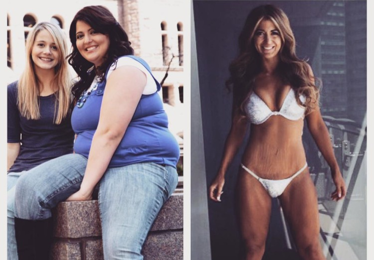 Девушка сбросила 60 кг за дв…