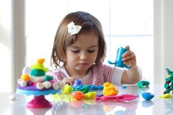 Детская территория. Лепим из пластилина - приёмы и хитрости