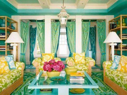26 идей яркой гостиной