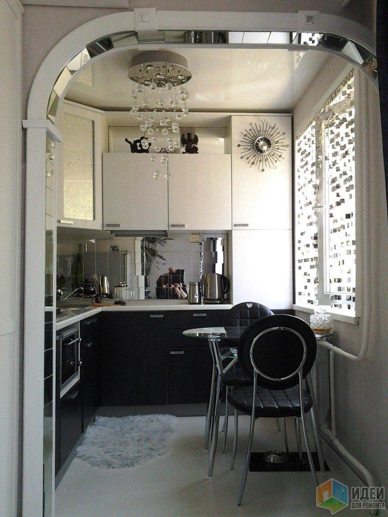 Интерьер кухни, маленькая кухня фото