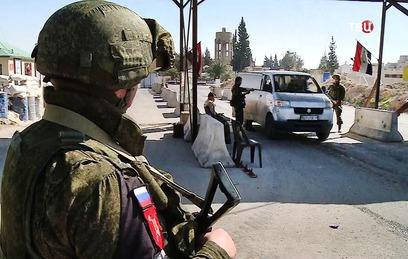 Российские военные пресекли теракт в автобусах с беженцами в Восточной Гуте