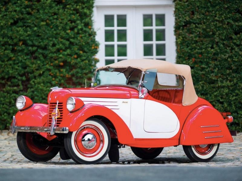 8. Bantam 1938 American Roadster Hershey Motor Lodge, аукцион, олдтаймер, продажа авто