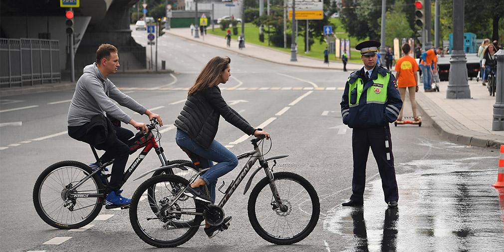Велосипедистов предложили тестировать на знание ПДД