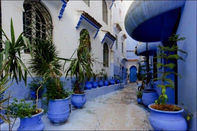 путешествие синий город 10