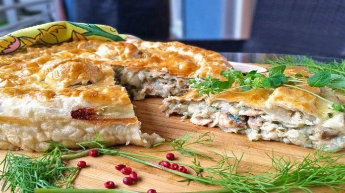 Этот ленивый рыбный пирог — универсальная идея для тех, кому не хочется долго возиться на кухне