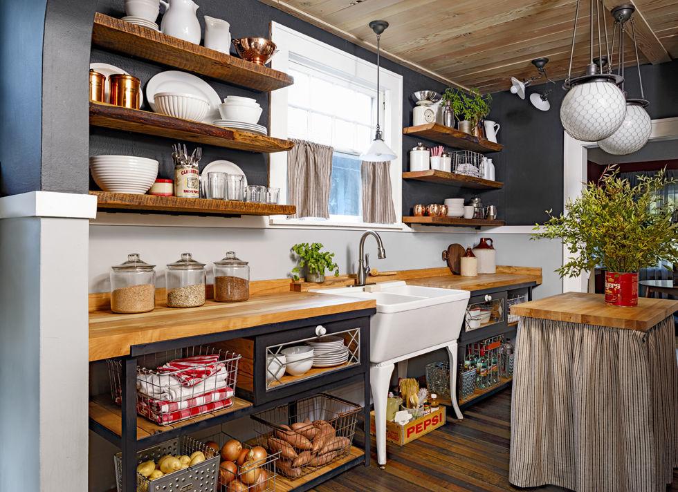 gallery 1425398849 blue ribbon kitchen sink 0215 Дизайн фасадов кухонных шкафов 60 фото