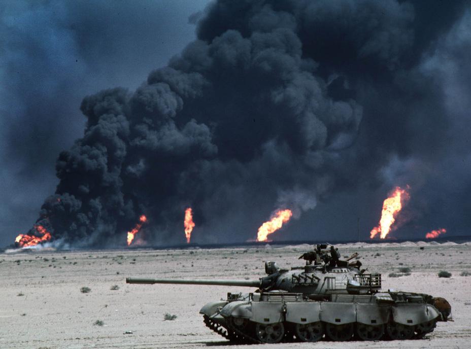 Танковое побоище в пустыне