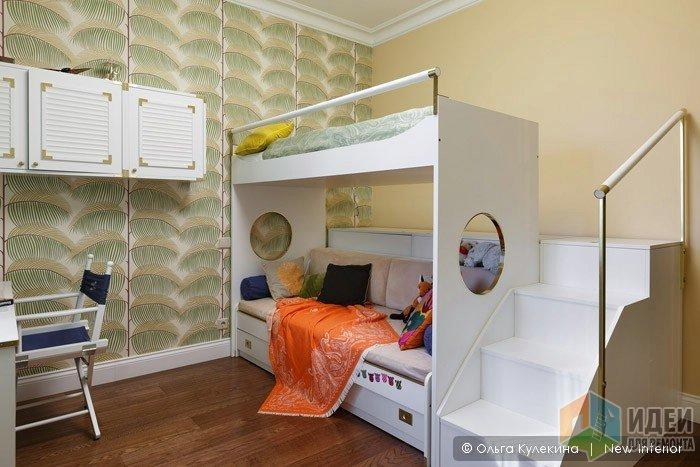 Какими бывают детские комнаты