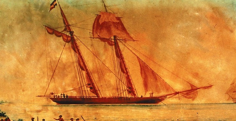 В США нашли обломки последнего рабовладельческого судна