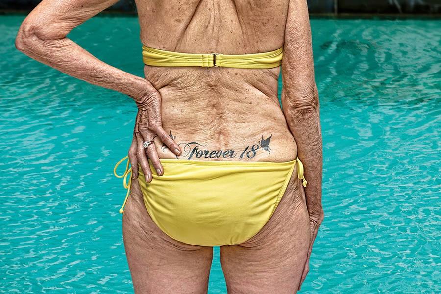 Татуировки на женском теле: …