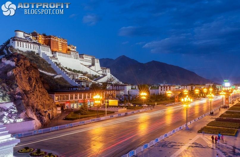 Дворец Потала - Тибет