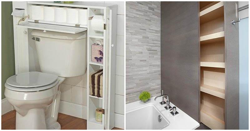 30+ блестящих идей организации пространства в ванной комнате