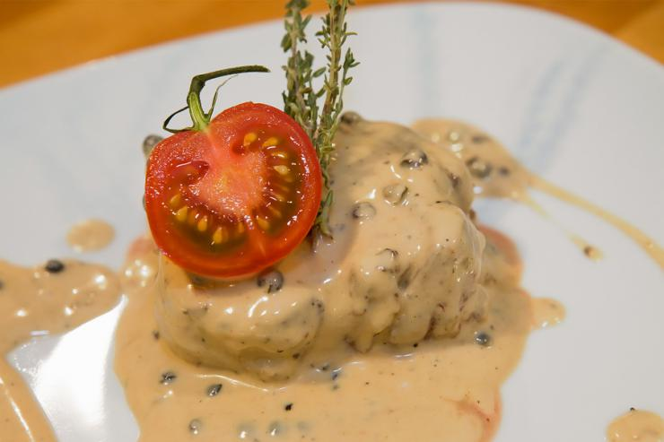 Говядина в соусе «зеленый перец»