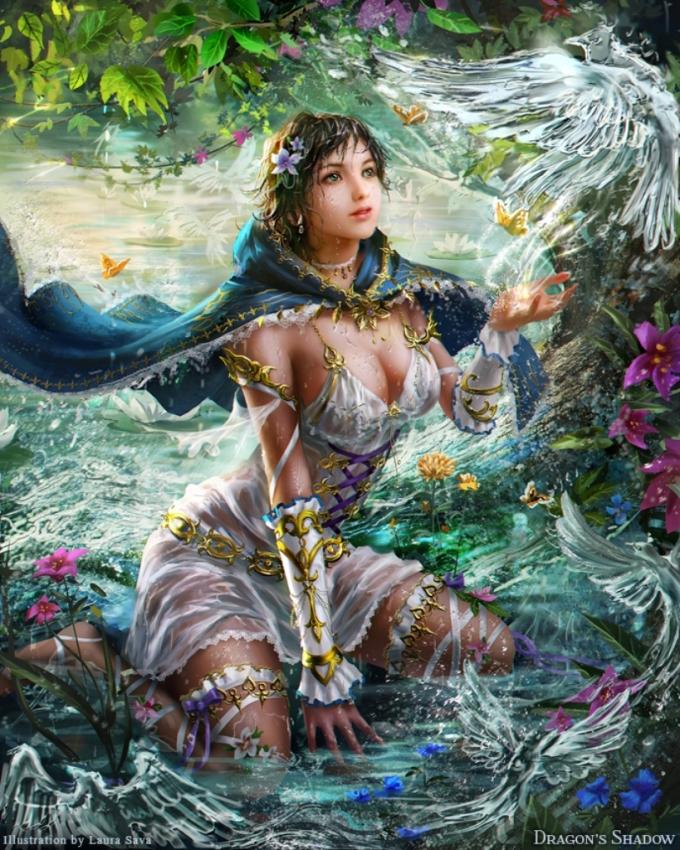 Фэнтазийные воительницы Лауры Сава