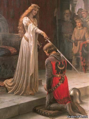 Рыцарство - этический кодекс поведения.