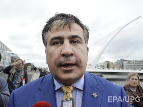 Саакашвили о протестах в Молдове: Это антиолигархическое движение, которое отвечает настроениям в Украине