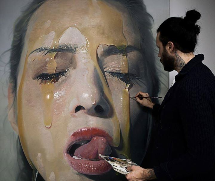 Супер реалистичная живопись
