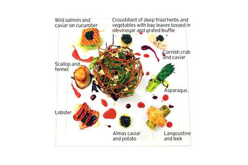 Самые дорогие блюда мира (14 фото)