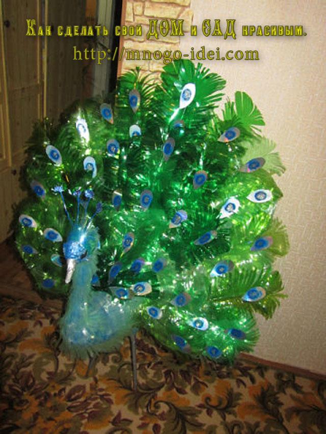 Из пластиковых бутылок поделки павлин из пластиковых бутылок для сада