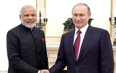 Путин встретился с премьер-министром Индии