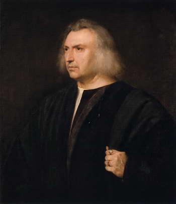 Тициан. Портрет врача Джанджакомо Бартолотти