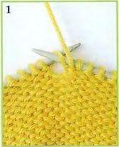 Как провязывать скрещённые петли  из протяжек и как убавлять петли протяжкой