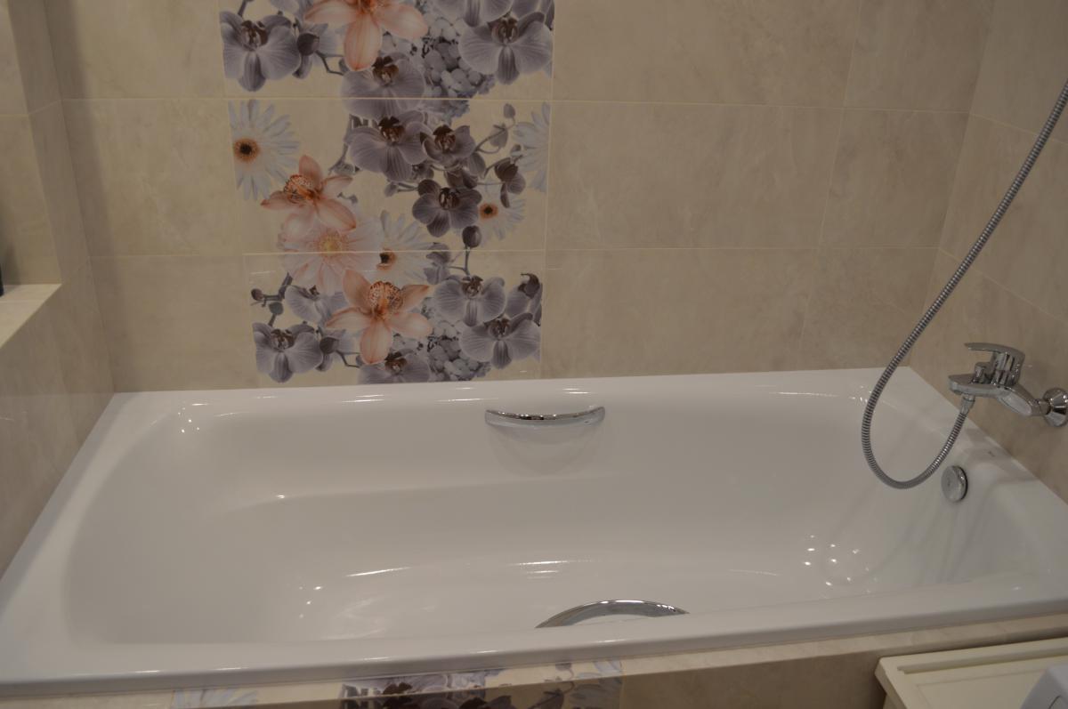 Цветочный микс. Ванная.