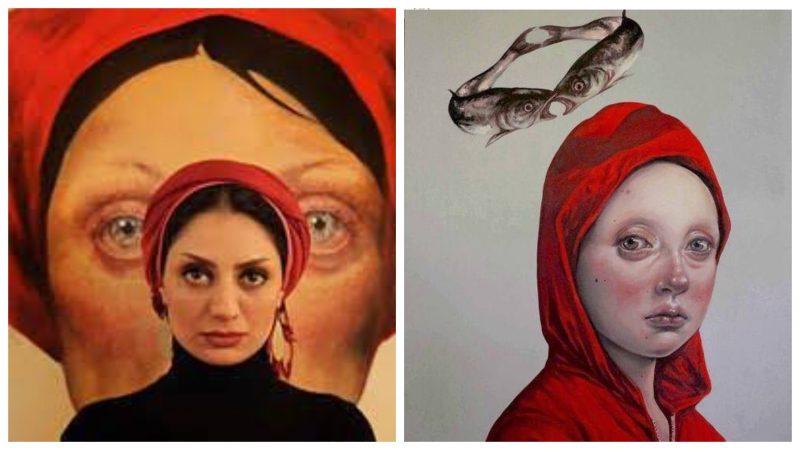 Сила и боль: проникновенные женские портреты иранской художницы Афарин Сажеди
