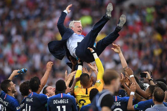 Сборная Франции - чемпион мира по футболу 2018 года