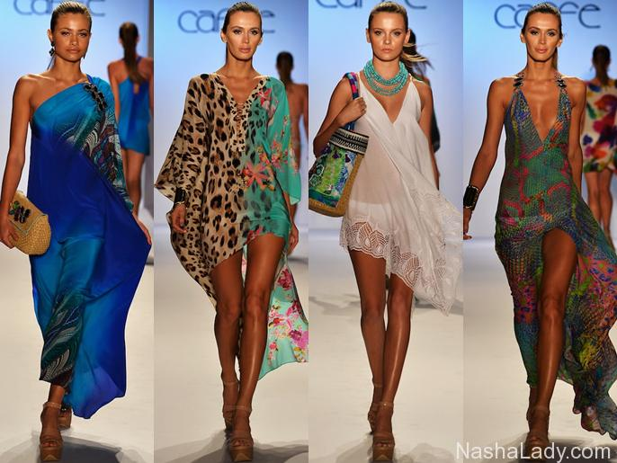 Самые модные пляжные платья